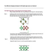 Right Angle Weave Beading Instruction