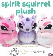 Spirit Squirrel Plush - Choly Knight - Sew Desu Ne? with Armorbelle - Free