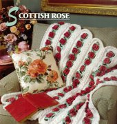 Scottish Rose Afghan - Gloria Marquis - Annies Crochet Quilt Afghan Club