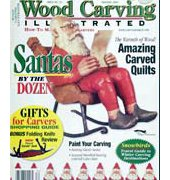 Wood Carving Illustrated - Issue 25 - Holiday 2003 - Fox Chapel Publishing