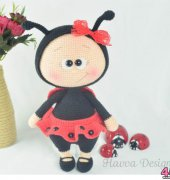 Bonnie with Ladybug Costume - Havva Ünlü - Havva Designs