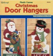 Christmas Door Hangers - 842433 - Kathleen Hurley - The Needlecraft Shop