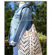 Chevron Chic Tote - Jennifer Pionk - A Crocheted Simplicity