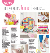 Sew Style and Home - Issue 111 - June 2018 - Aceville Publications