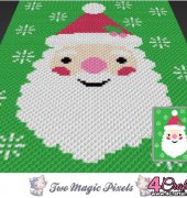 Jolly Santa - Two Magic Pixels