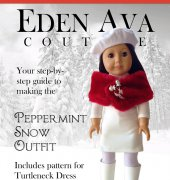 Peppermint Snow Outfit - Eden Ava Couture