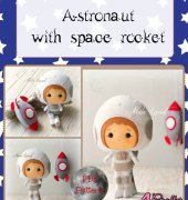 Astronaut with Space Rocket - Noia Land