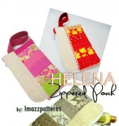 Helena Zippered Pouch - Imazz Patterns - Free