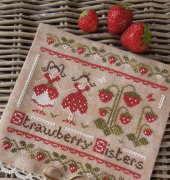 The Strawberry Sisters - Laura Rimola - The Little Stitcher