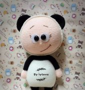 Crochet Activity ~ Bonnie with Panda Costume