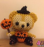 Duffy in Halloween custome