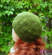 Foliage Hat - Irina Dmitrieva - 2012 - Russian - Free