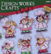 Cooking Up Christmas - 1687 - Karen Harran - Design Works Crafts
