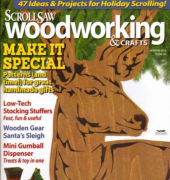 ScrollSaw Woodworking & Crafts - Volume 17 Number 4 Issue 65 - Winter 2016 - Fox Chapel Publication