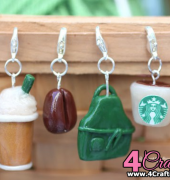 Starbucks Stitch Markers - Sarah Zimmerman - Repeat Crafter Me - Free