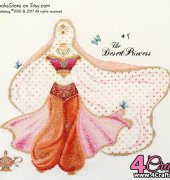 Number 9 - The Desert Princess -The Fairy Tale Princess Dress-Up Collection - Brooke Nolan - Brooke's Books Publishing