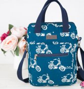 Brenna Macbook Crossbag - IThinkSew