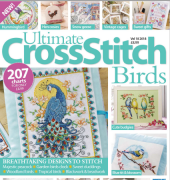Ultimate Cross Stitch Birds - Volume 18 - 2018 - Immediate Media Co