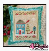 Snow Place 4 - Snow Place Like Home - Nikki Leeman - Country Cottage Needleworks
