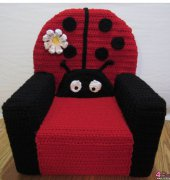 Ladybug Toddler Chair - Julie Marie Trimpe