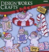 Sweetie Snowmen - 1669 - Ronnie Walter - Design Works Crafts