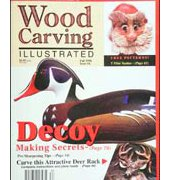 Wood Carving Illustrated - Issue 4 - Fall 1998 - Fox Chapel Publishing