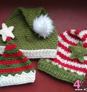 Holiday Elf Hat - Emmy L Faranda - Evie And Bette