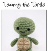 Tommy the Turtle - Theresa Gray - Affordable Cuteness - Theresas Crochet Shop
