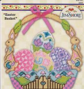 Easter Basket - 2295 - Design Works Crafts