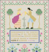 1929 Sampler Remembrance Is the Sweetest Flower - Worthpoint