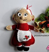 Mrs. Santa Claus ragdoll - Passionatecrafter - Free