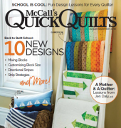 McCall's Quick Quilts - Vol. 23 No. 5 - August/September 2018 - McCall's