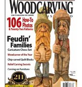 Wood Carving Illustrated - Issue 44 - Fall 2008 - Fox Chapel Publishing