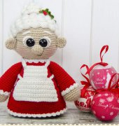 Mrs. Claus Amigurumi - Carolina Guzman - One and Two Company