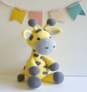 Grayson the Giraffe - Carolyne Brodie - Sweet Oddity Art