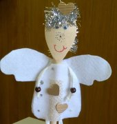Christmas Angel decoration - kpv