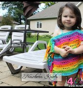 Rainbow River Bathing Suit Cover - 79- AmandaChapman - Newborn Knots