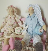 sleeping angels - Tone Finnanger - Crafting christmas gifts