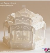 Carousel pop-up card - Amazing PopUp - English
