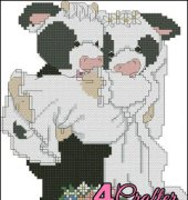 I'll Never Love An-Udder - Mary's Moo Moos - B109 - Designs by Gloria and Pat