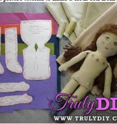 Make a Prairie Flower Cloth Doll Tutorial - Beth Ann Webber - By Hook By Hand - Free