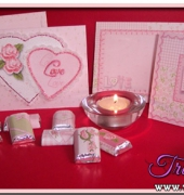 Little Sweetheart Cards and Candy Kit - Debbie Bastian