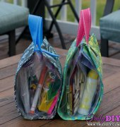 Busy Bags Tutorial Road Trip Boredom Busters by infarrantlycreative - free