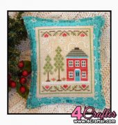 Snow Place 2 - Snow Place Like Home - Nikki Leeman - Country Cottage Needleworks