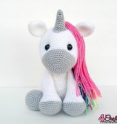 Jupiter the Unicorn - Sweet Oddity Art
