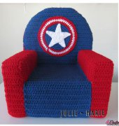 Superhero Toddler Chair - Julie Marie Trimpe
