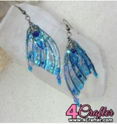 Fairy Wing Earrings - Molly Stanton- elven elydium - English - Free