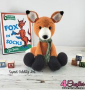 Frederick the Fox - Carolyne Brodie - Sweet Oddity Art