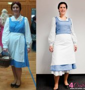 Disney's Belle from Beauty and the Beast - Town Dress - Vogue Sew Pattern