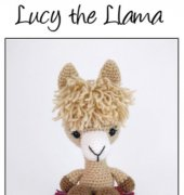 Lucy the Llama - Theresa Gray - Affordable Cuteness - Theresas Crochet Shop